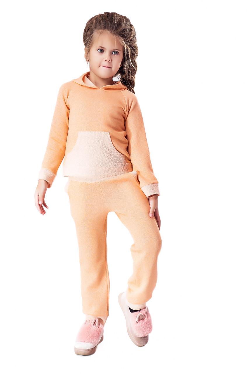 Спортивный костюм LiLove 1-032-1 128-134 оранжевый