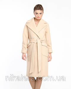 Пальто из буклированного кашемира рр 44-50
