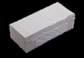 Полотенца макулатурные V-образные.,160шт., серый