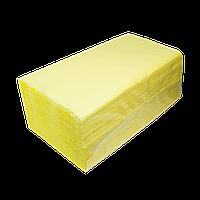 Полотенца целлюлозные V-образные.,160шт., 2х сл., желтый