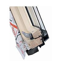 Мансардне вікно ROTO Designo R4 WDF R45 H WD дерев'яне Мансардное окно Рото 4 серии с WD блоком