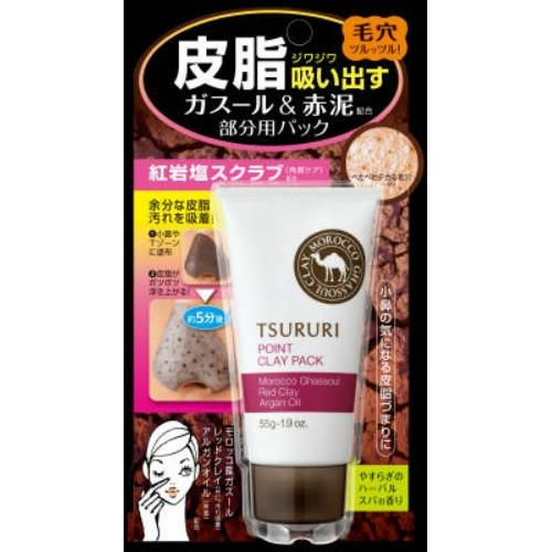 Крем - маска для лица Tsururi с глиной (для Т-зоны) 55 г (080572 )