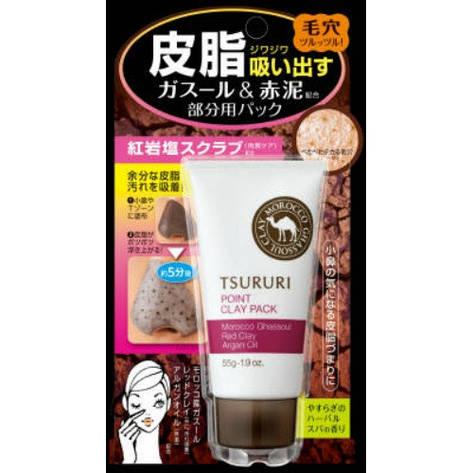 Крем - маска для лица Tsururi с глиной (для Т-зоны) 55 г (080572 ), фото 2