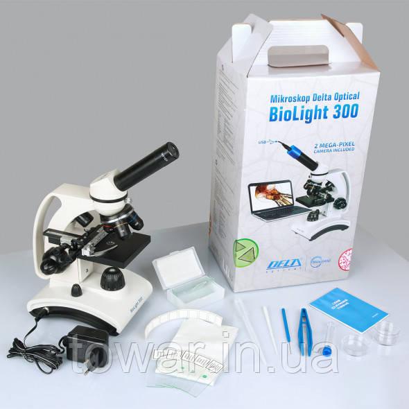 Мікроскоп Delta Optical BioLight 300 + набір