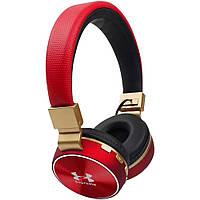 Bluetooth Наушники    V685 (Under Amour) Красные