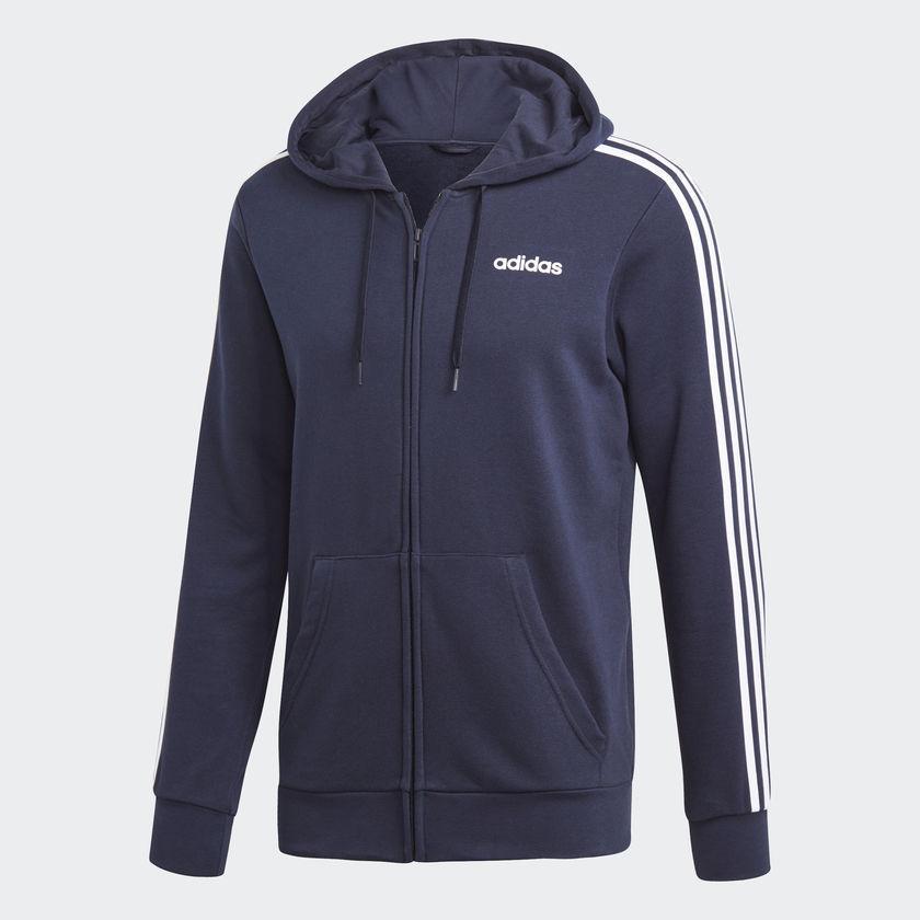 Мужская толстовка Adidas Performance Essentials 3-Stripes (Артикул: DU0471)