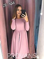 Женское модное платье  НО75/1 (бат), фото 1