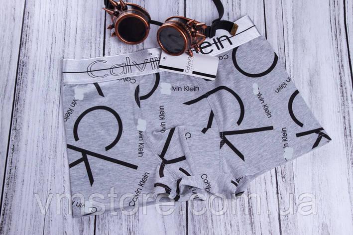 Трусы мужские в стиле бренда СК, серый, 3XL (54), фото 2