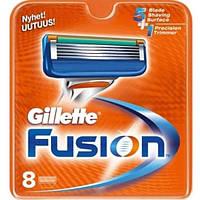 Сменные кассеты Gillette Fusion - 8 шт (Оригинал)