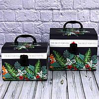Подарочная коробка - чемодан 1801371-21-22 ( 2 шт. в комплекте)