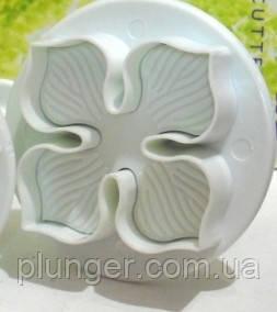"Плунжер кондитерский для мастики, марципана, теста ""Цветок"" , 2.8 см"
