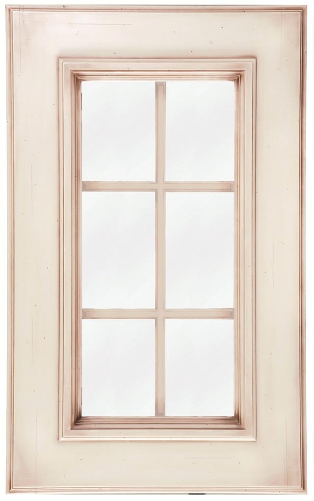 Фасад витрина с перегородками