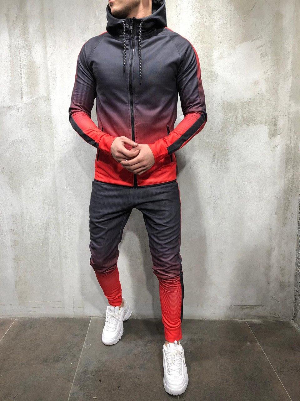 😜Мужской спортивный костюм BRS 5058