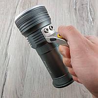 Ручной светодиодный фонарь прожектор Police T801-2-XPE фонарик для дома кемпинга или рыбалки
