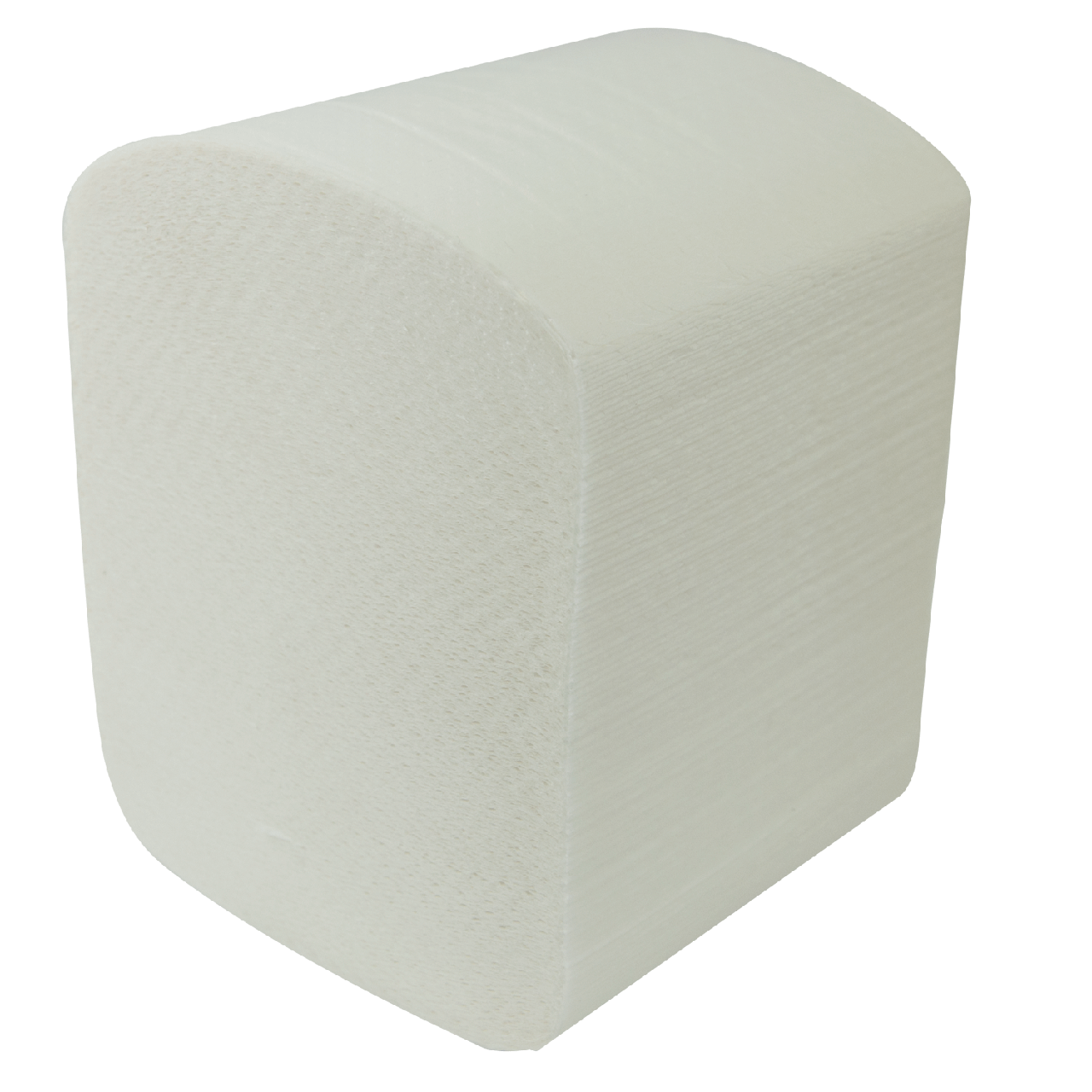 Бумага туалетная листовая целюлоз., 2-х сл., 150шт. белый