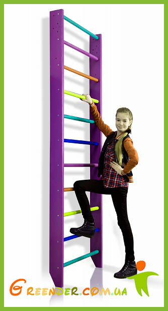 Спортивная стенка для детей - 0-240 (purple)
