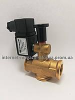 """Электромагнитный клапан для газа нормально открытый ( с ручным взводом )1/2"""""""