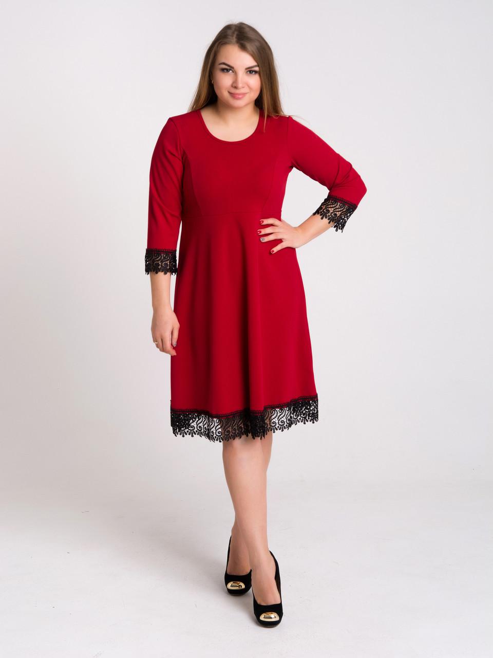 Изящное женское платье