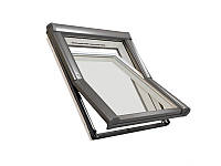 Мансардне вікно ПВХ ROTO Designo R4 WDF R45 K  Мансардное окно  Рото 4 серии влагостойкое