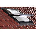 Мансардне вікно ПВХ ROTO Designo R4 WDF R45 K  Мансардное окно  Рото 4 серии влагостойкое, фото 7