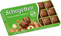 Шоколад Shogetten Альпийский молочный с лесными орехами 100 г