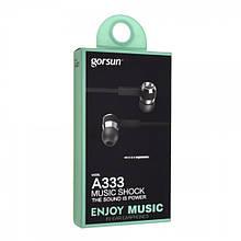 Навушники Gorsun A333 вакуумні