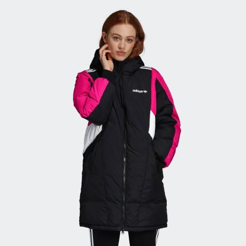 Женская куртка Adidas Originals Down Jkt Long (Артикул: EC2184)