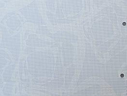 Готовые рулонные шторы Ткань Лёд Белый