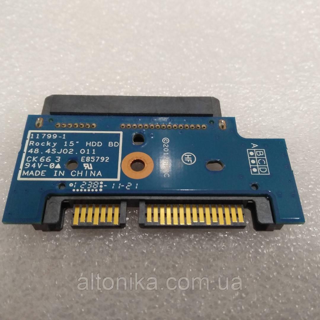 Дополнительная плата для HP ProBook 4540s 4545s HDD Hard Disk Drive SATA Connector 11799-1 48.4sj02.011