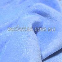 Ткань флис, 50 х 50 см, плотность 200, полиэстер 100%, цвет голубой,