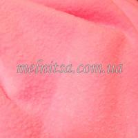 Ткань флис, 50 х 50 см, плотность 200, полиэстер 100%, цвет розовый,