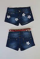 Джинсовые шорты для девочек 4- года