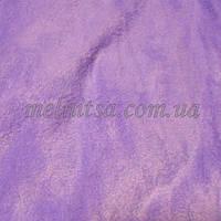 Ткань флис, 50 х 50 см, плотность 200, полиэстер 100%, цвет сиреневый