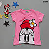 Футболка Minnie Mouse для девочки.  86-92;  98-104;  110-116;  122-128 см