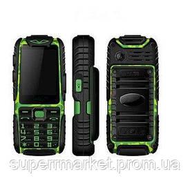 Телефон Land Rover A6 Extra IP67. Разные цвета. Зеленый