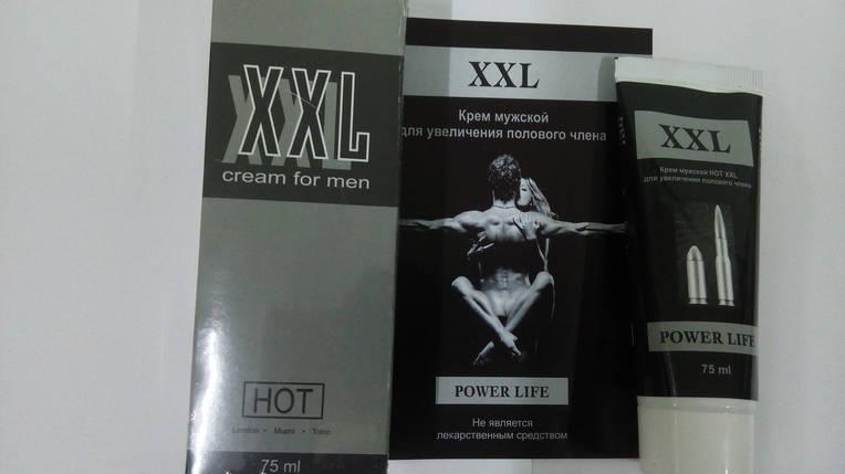 XXL Power Life HOT - Возбуждающий крем для мужчин (XXL Павер Лайф Хот) 75 мл, фото 2