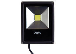 Светодиодный прожектор LP 20W, 220V, IP67 Econom