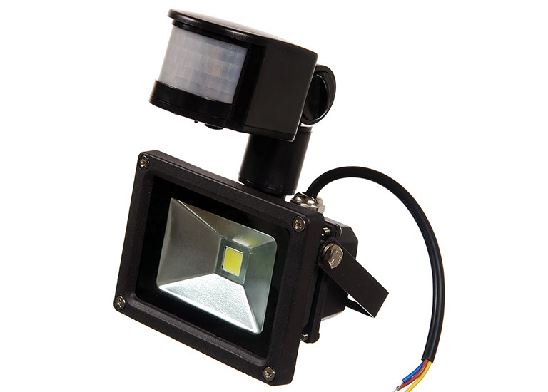 Светодиодный прожектор с датчиком движения LP 10W, 220V, IP67 with MS Econom