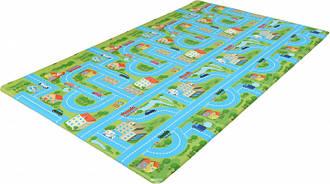 Игровой развивающий коврик Alzipmat CITY ROAD (CITY ROAD/SG)