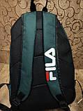 Рюкзак FILA новинки моды спортивный спорт городской стильный Школьный рюкзак только оптом, фото 4