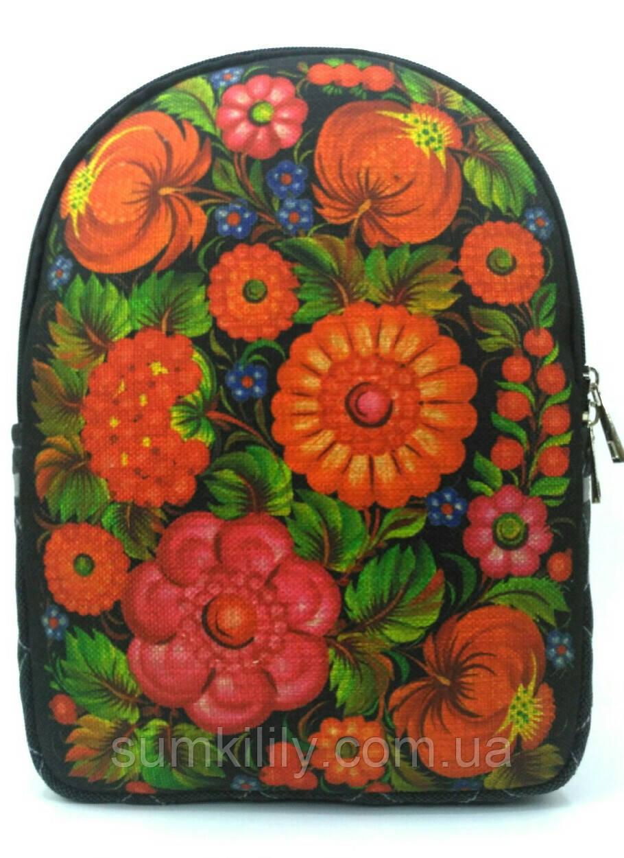 Рюкзак петриковка на черном
