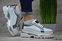Женские кожаные кроссовки/кеды Philipp Plein (Реплика)►Размеры [36], фото 1