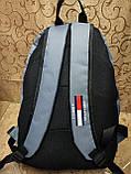 Рюкзак tommy Томми новинки моды спортивный спорт городской стильный Школьный рюкзак только оптом, фото 4