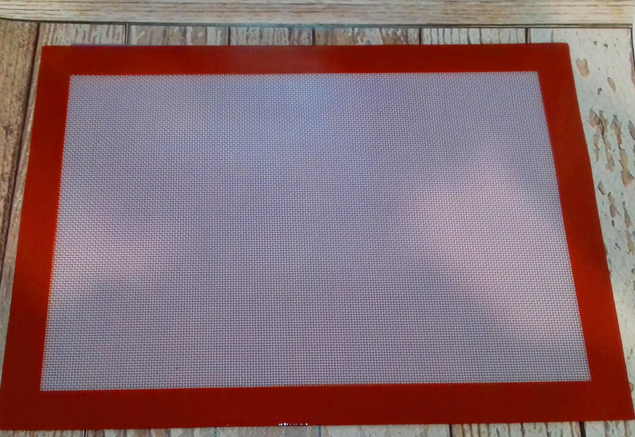 Коврик силиконовый для выпечки 42*29 см