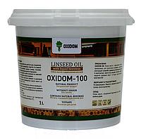 OxiDom-100 – льняна олія для дерева з бджолиним воском