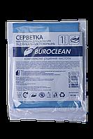 Серветка мікрофібра для скла і дзеркал Buroclean 30х30