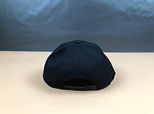 Кепка бейсболка Youth (черная) застежка пластик, фото 3