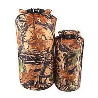 Водонепроницаемая сумка гермомешок Waterproof Dry Bag Military 15l 130417