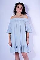 Сарафан женский голубой размер L 3054