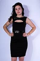 Платье женское черное размер 38 3029